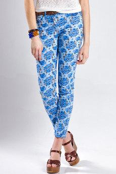 Женские летние брюки из хлопка VIAGGIO